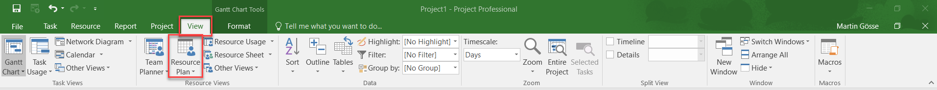 Using Resource Engagements in MS Project 2016 3