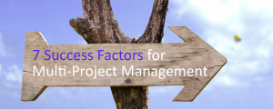 7 Success Factors for Multi-Project Management