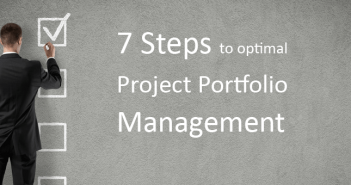 7 Steps to Optimal Project Portfolio Management