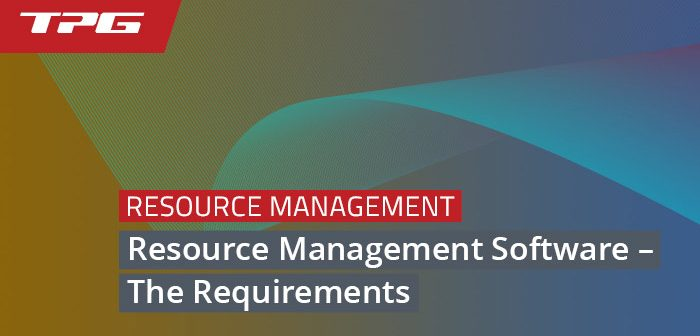 Resource Management Software