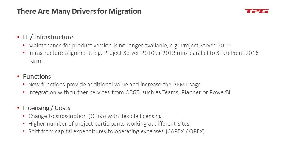 microsoft project server migration 1