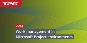 Work Management Tools Microsoft Project Environment