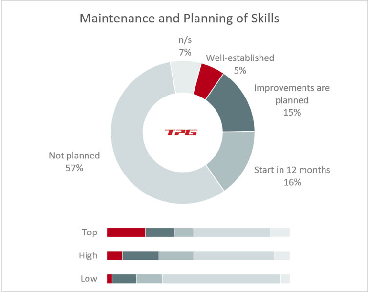 Capacity Planning – Implementation of skills management among top, high and low-performing PMOs