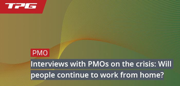 PMO interview working from home