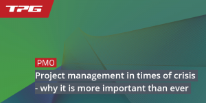 Project management in times of crisis
