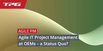 Agile IT Project Management – Header