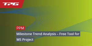 Milestone Trend Analysis for MS Project