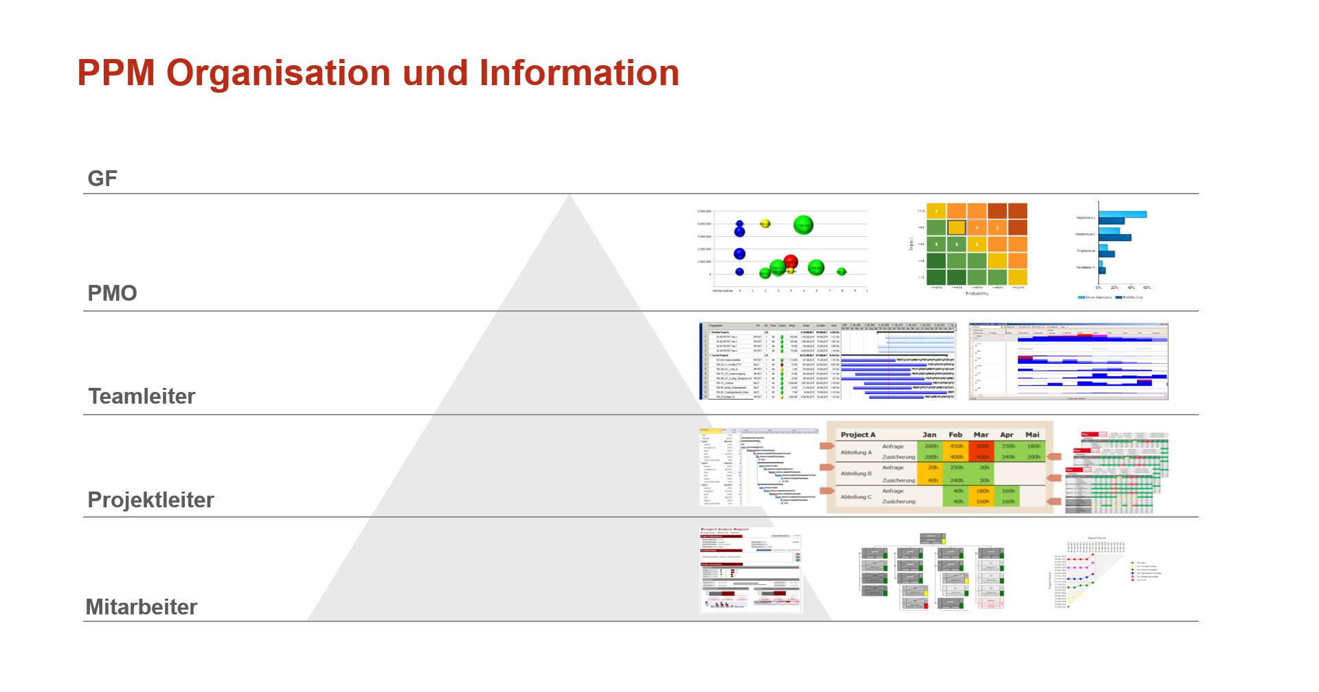 warum ein PMO wichtig ist - PPM-Organisation und Information