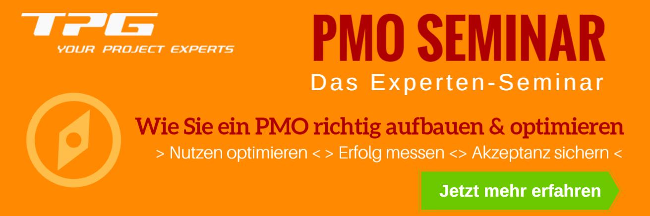 PMO Seminar - wie Sie ein PMO einführen / optimieren