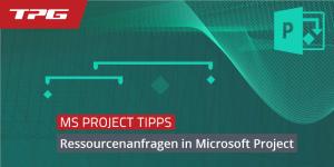 Ressourcenanfragen in Microsoft Project