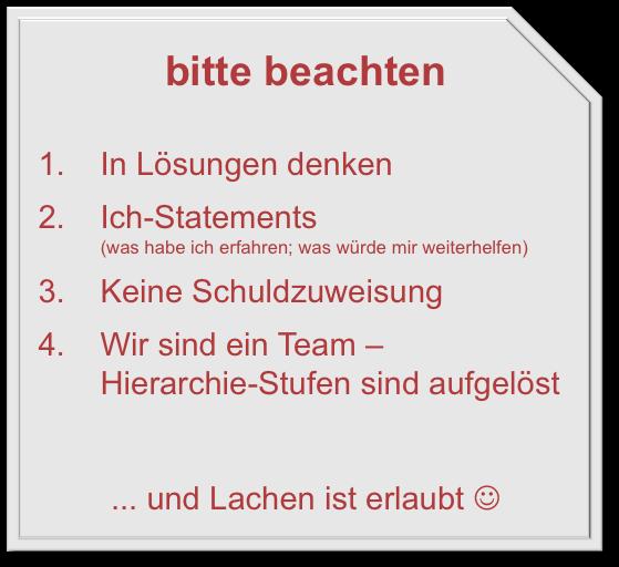 Lessons Learned im Projektmanagement - Beispiel & Vorlagen