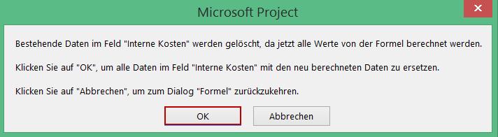 Ressourcenkosten in Microsoft Project 5