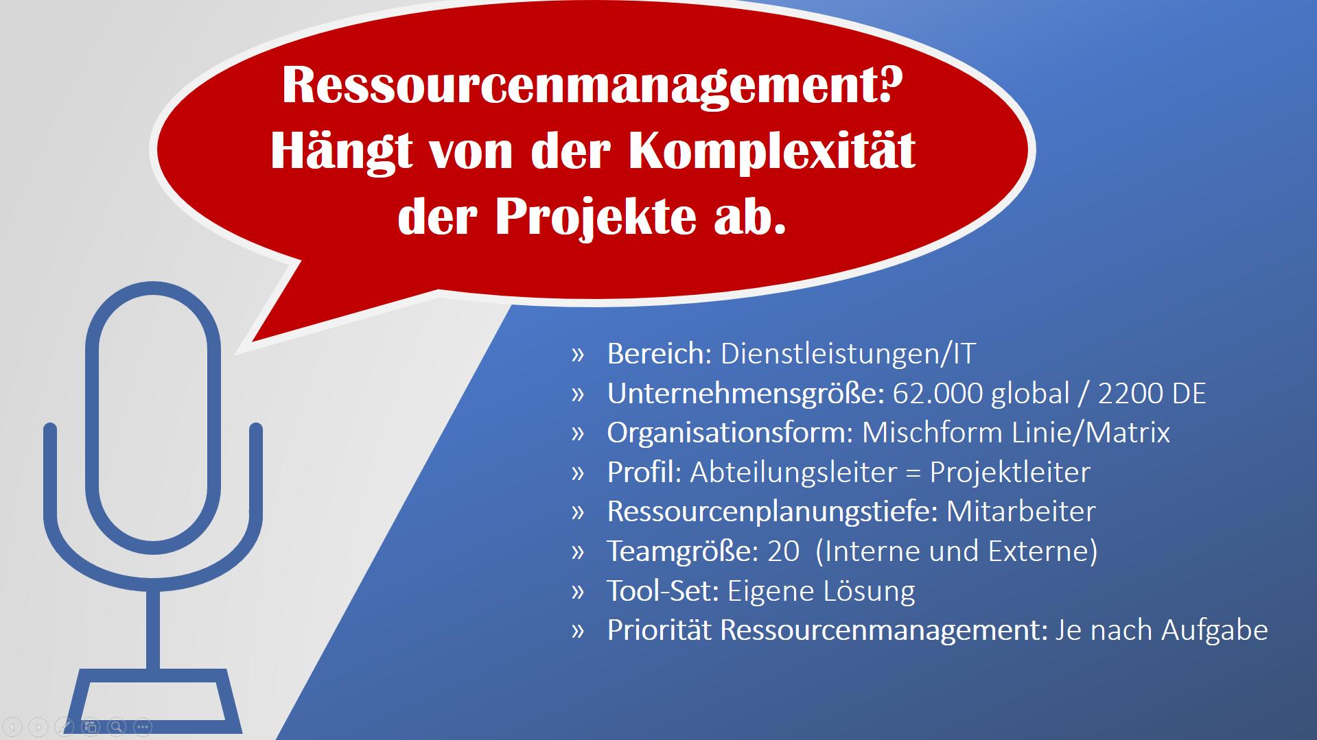 Ressourcenmanagement in Projekten 3