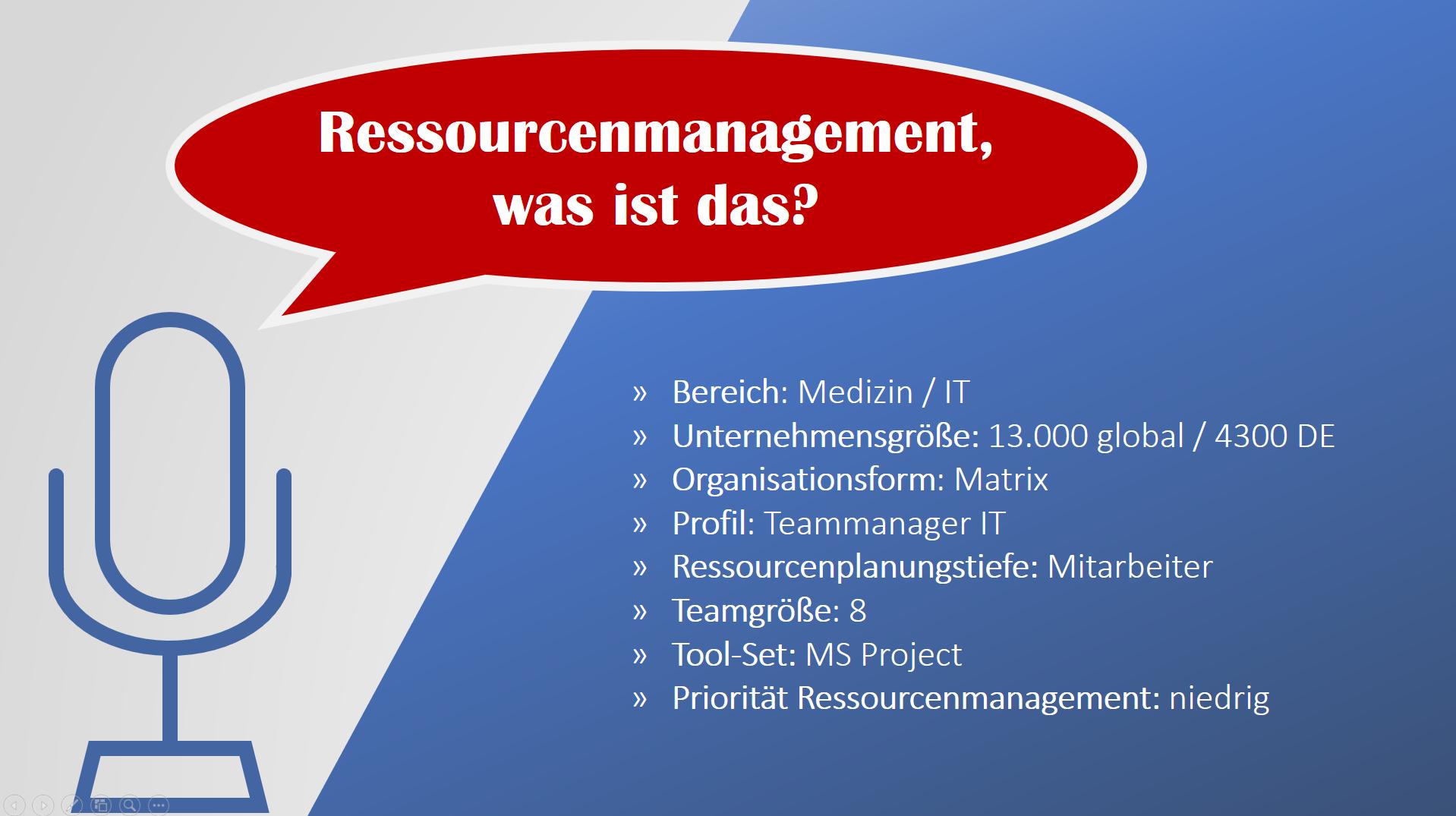 Ressourcenplanung in Projekten 5