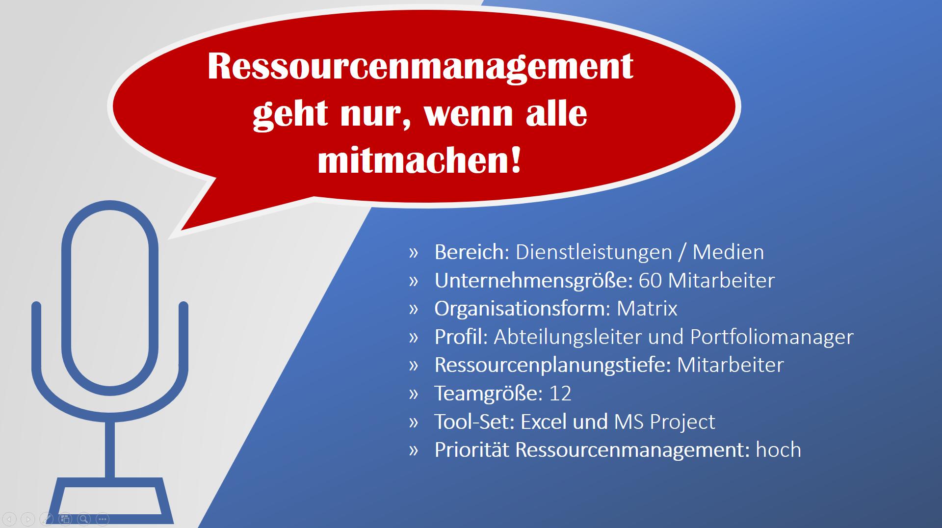 Ressourcenplanung in Projekten 6