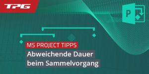 Titel_abweichende Dauer -MS-Project_