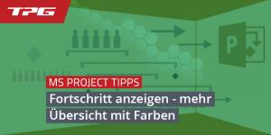 Titel_farbige Fortschrittsbalken-MS-Project