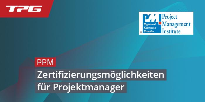 Zertifizierungsmöglichkeiten für Projektmanager