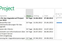 Vorlagen erstellen Microsoft Project
