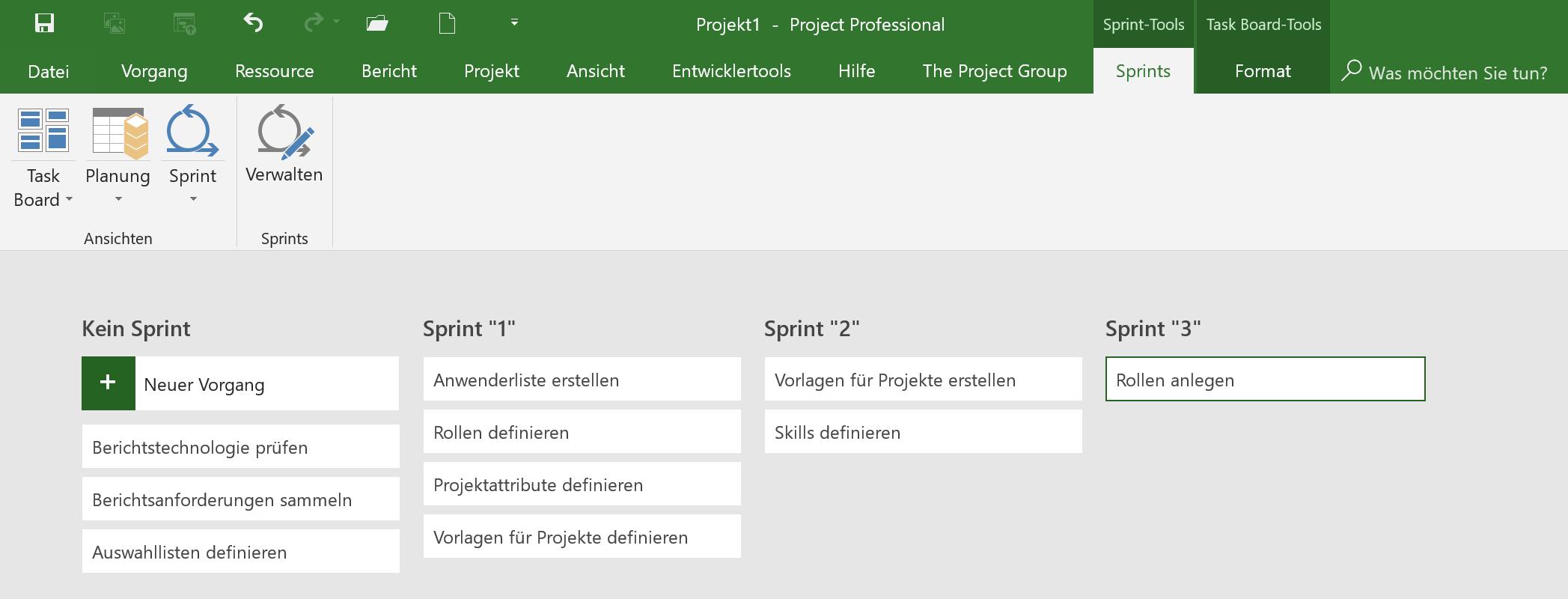 Project Online Neuerungen 3