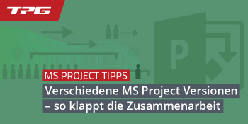 Header verschiedene MS Project Versionen