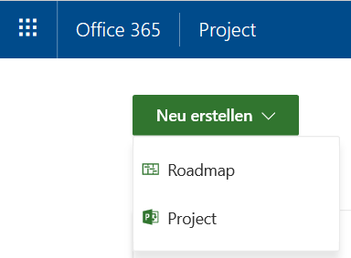 Bild 2: Erstellen einer Project Roadmap