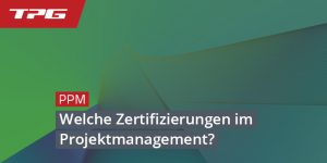 Zertifizierungen Projektmanagement