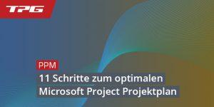11 Schritte zum optimalen Microsoft Project Projektplan_Header