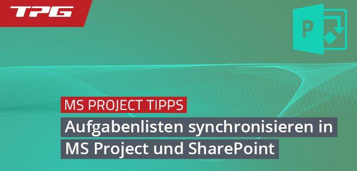 Header_Synchronisierung Aufgaben MS Project und SharePoint