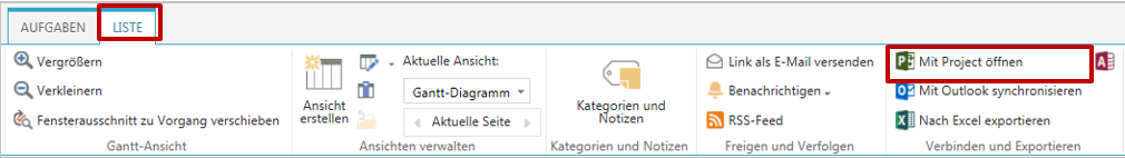 MS Project Tipp SynchSharePoint_7
