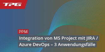 Header Integration von MS Project mit Jira