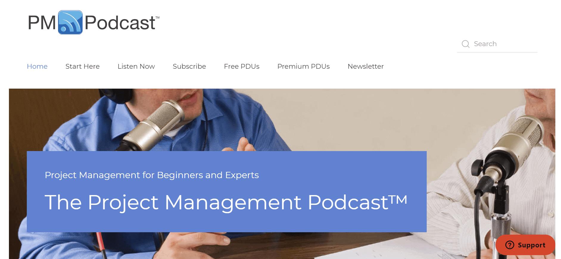 Projektmanagement-Podcasts PM Podcast