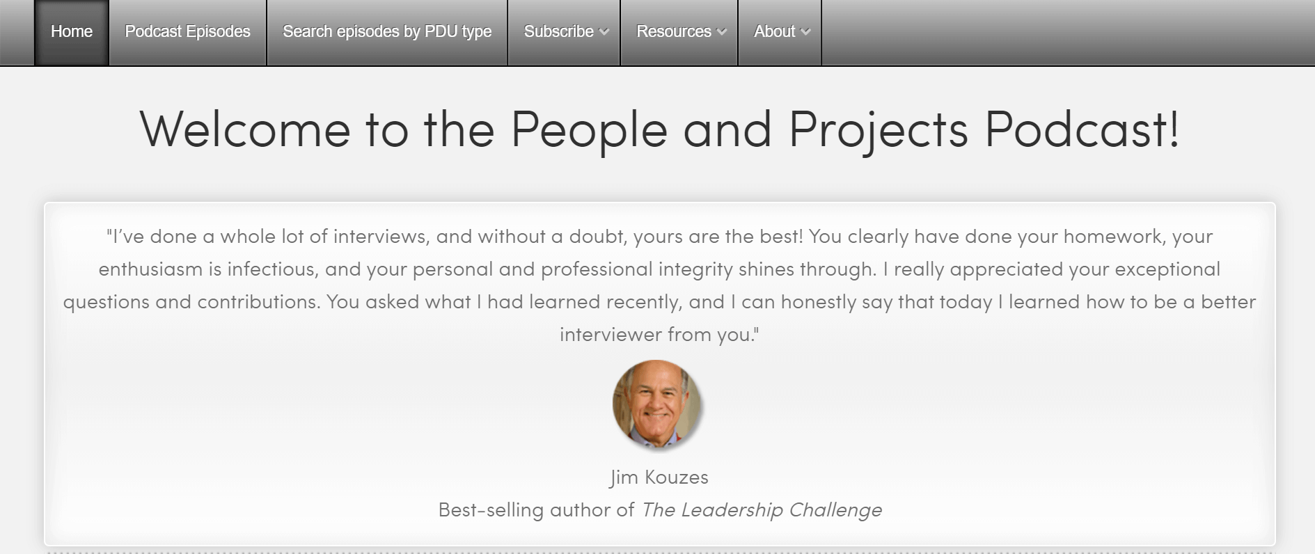 Projektmanagement-Podcasts People and Projects Podcast