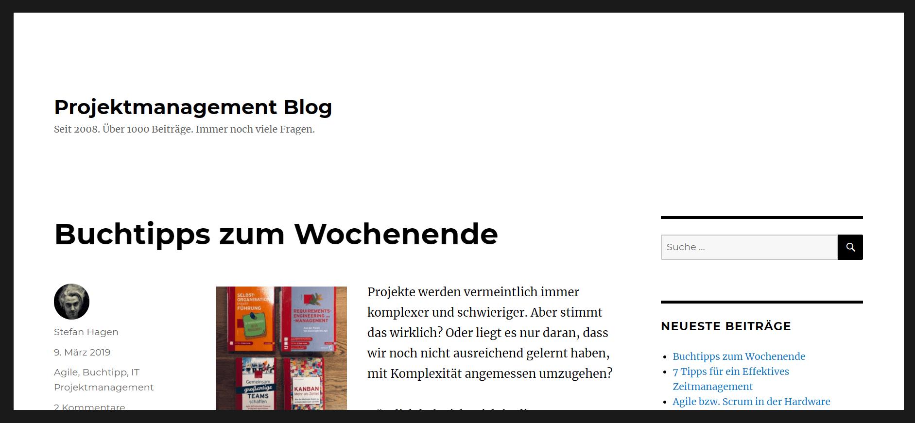 Projektmanagement-Blogs PM-Blog