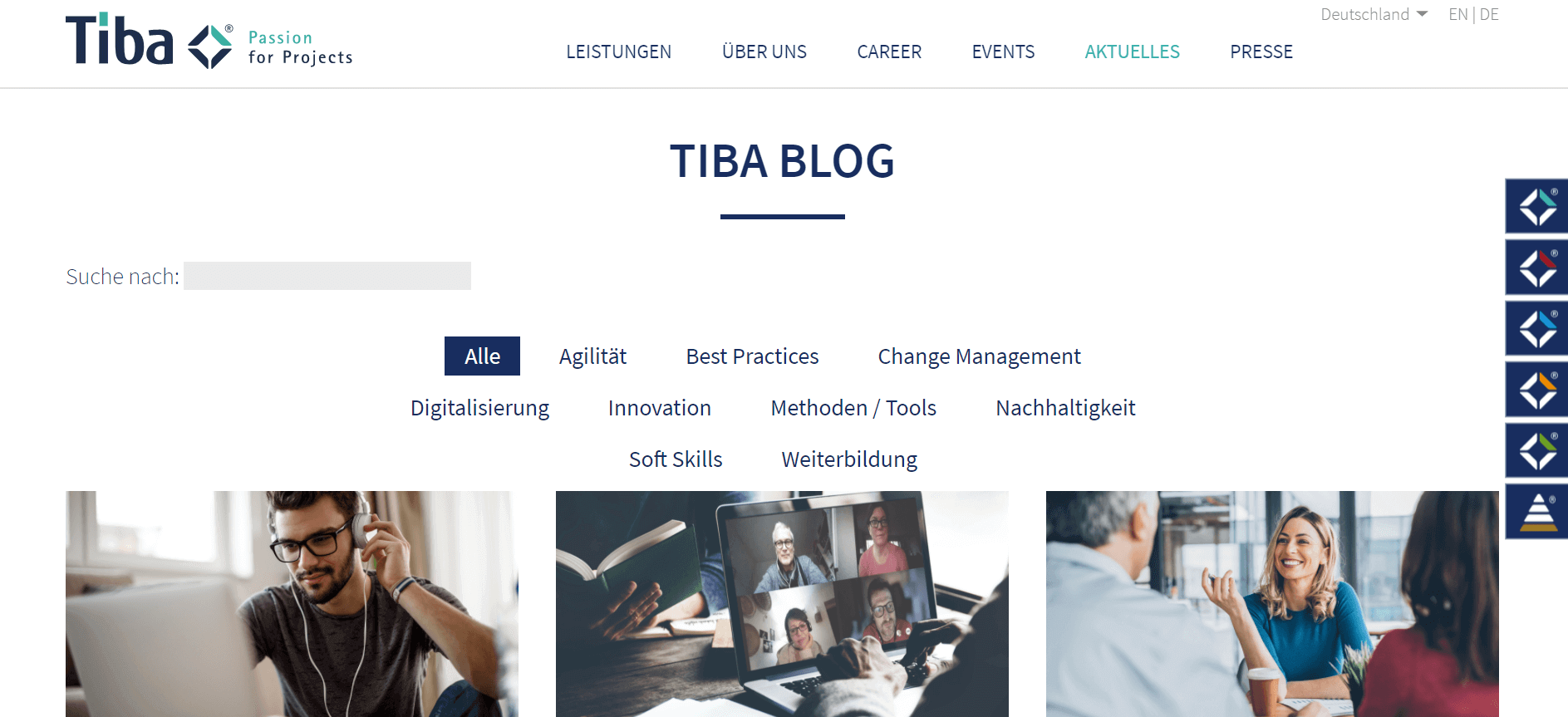 Projektmanagement-Blogs
